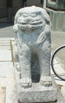 亀山八幡宮05狛a