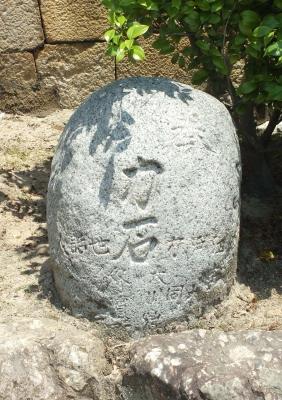 亀山八幡宮力石
