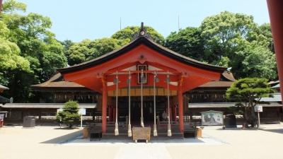 下関住吉神社07拝殿