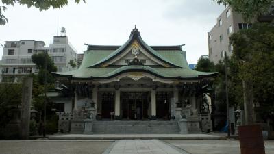 難波八坂03拝殿