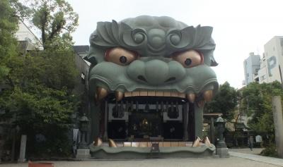 難波八坂05神楽殿