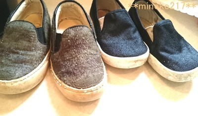 靴を洗う3