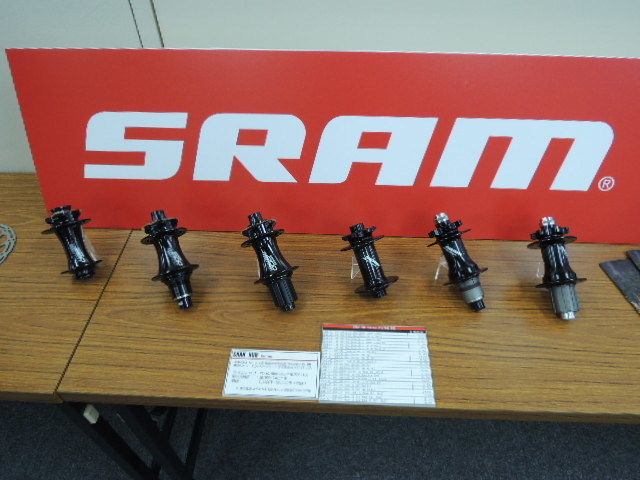 2018 sram、ROCK SHOX 、truvativ、quarq 展示会32