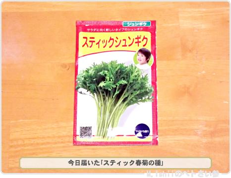 スティック春菊の種