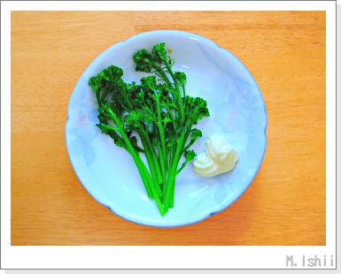 ペット栽培III(茎ブロッコリー)49