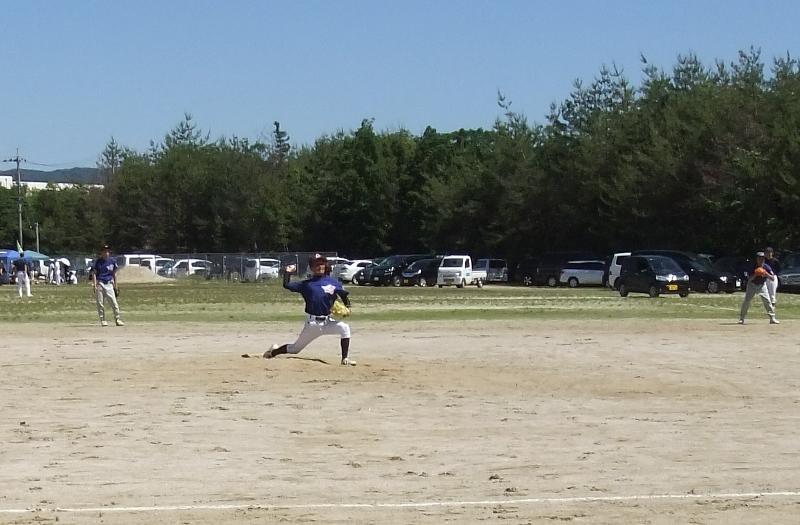 西山戦町民野球2