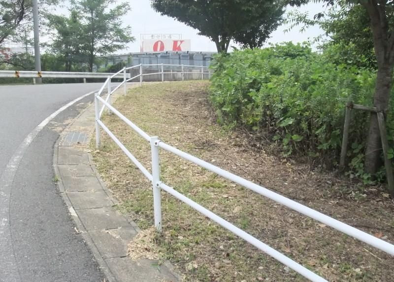 市道の清掃草刈り2