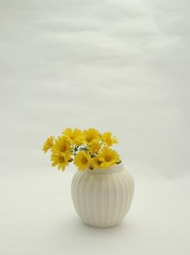 鎬マット花器 菊