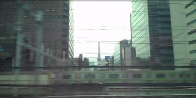車窓 東京タワー