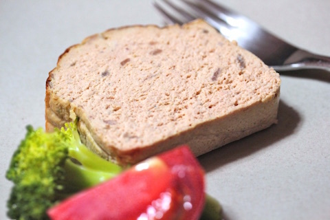 豚挽肉とレバーのパテ