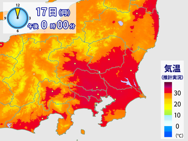 170717 東京で今年初の猛暑日