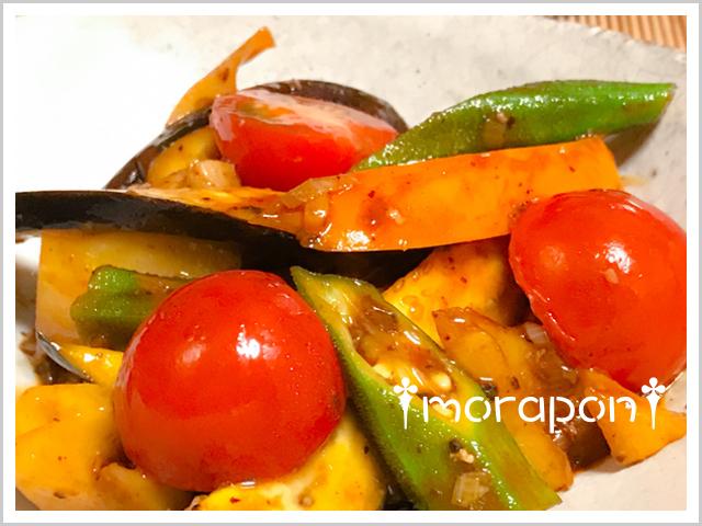 170807 麻婆夏野菜