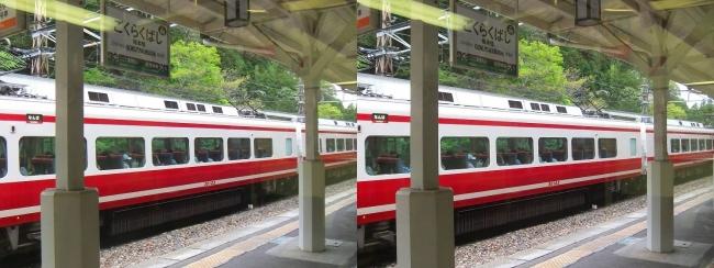 南海高野線 極楽橋駅②(交差法)