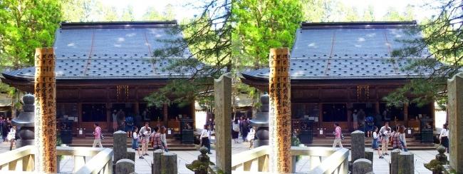 奥之院参道⑲ 護摩堂(平行法)