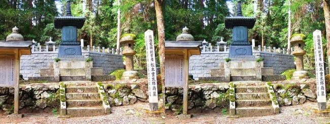 奥之院参道⑪ 南海電鉄創業者 松本重太郎翁の墓(平行法)