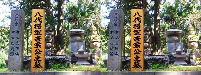 奥之院参道⑤ 八代将軍 吉宗公之墓所(交差法)