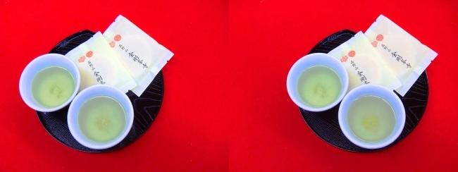 金剛峯寺 御茶と麩菓子のおもてなし(交差法)