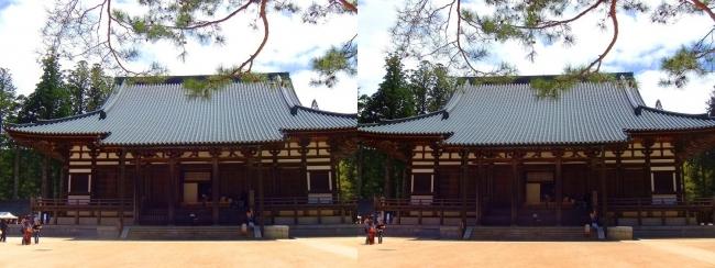 壇上伽藍 金堂(交差法)