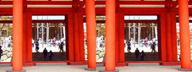 壇上伽藍 中門②(交差法)