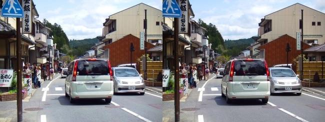 高野山 参詣道路①(交差法)