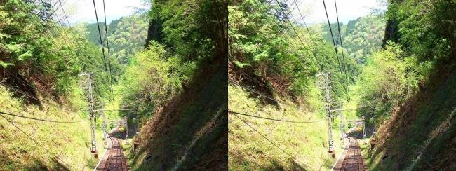 南海高野線 高野山ケーブル⑤(平行法)