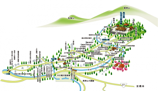 奥之院MAP