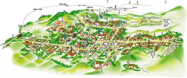 高野山全体MAP