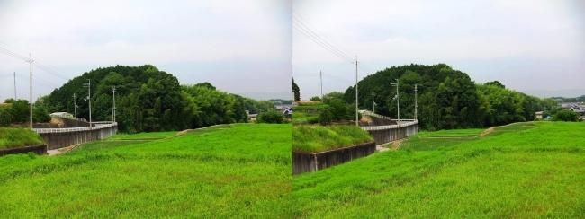 奈良県大和郡山市矢田町①(交差法)