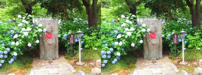 矢田寺 味噌なめ地蔵(平行法)