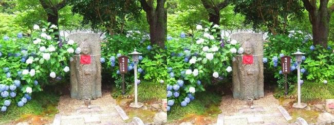 矢田寺 味噌なめ地蔵(交差法)