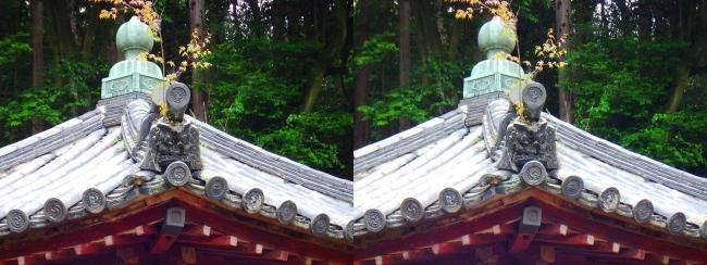 矢田寺 舎利堂③(平行法)