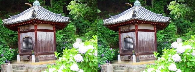 矢田寺 舎利堂②(平行法)
