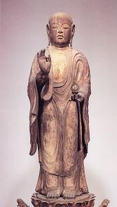 木造地蔵菩薩立像(矢田寺本尊)
