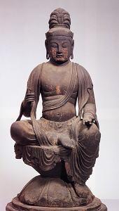 木造虚空蔵菩薩坐像(矢田寺北僧坊所蔵、奈良国立博物館寄託)
