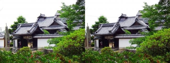 矢田寺 南僧坊(交差法)