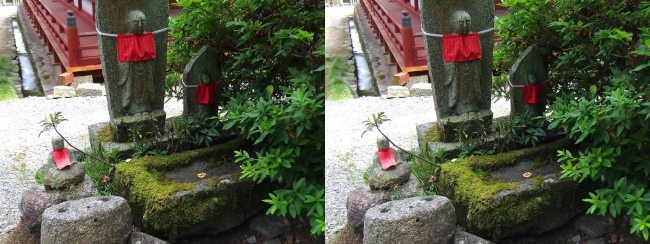 矢田寺 地蔵尊②(平行法)