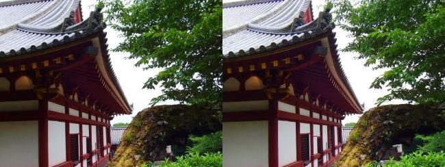 矢田寺 本堂⑦(平行法)