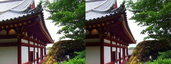 矢田寺 本堂⑦(交差法)
