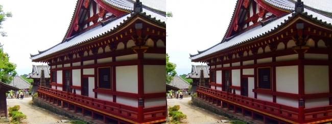 矢田寺 本堂⑥(交差法)