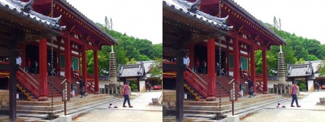 矢田寺 本堂⑧(平行法)