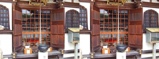 矢田寺 大門坊 聖天堂(交差法)