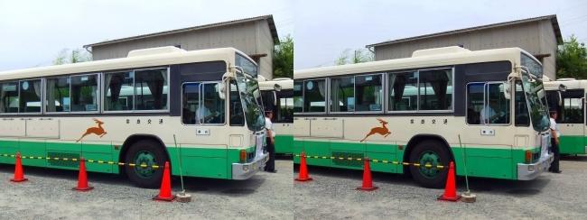矢田寺行き奈良交通バス②(交差法)