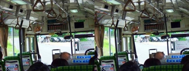 矢田寺行き奈良交通バス①(平行法)