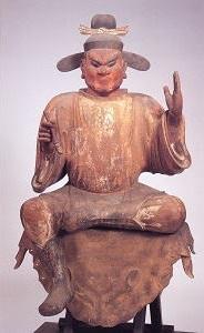 木造司録坐像(奈良国立博物館寄託)