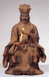 木造閻魔王倚像(奈良国立博物館寄託)
