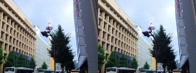 京都 塩小路通②(平行法)