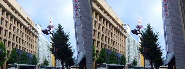 京都 塩小路通②(交差法)