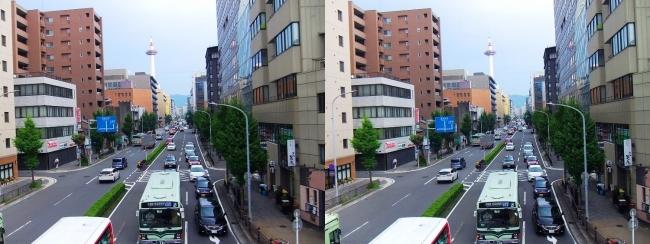 京都 塩小路通①(平行法)