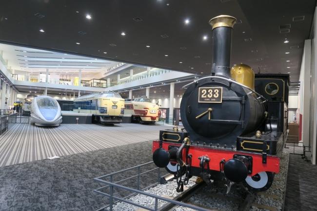京都鉄道博物館展示物