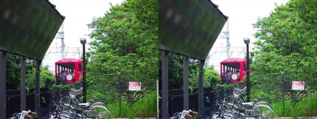 京都鉄道博物館 SLスチーム号新客車(平行法)